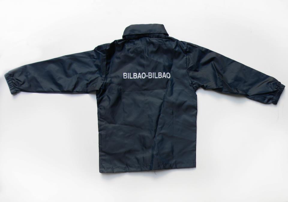 Chubasquero Colección Bilbao Bilbao de Llévame contigo by Triza 21