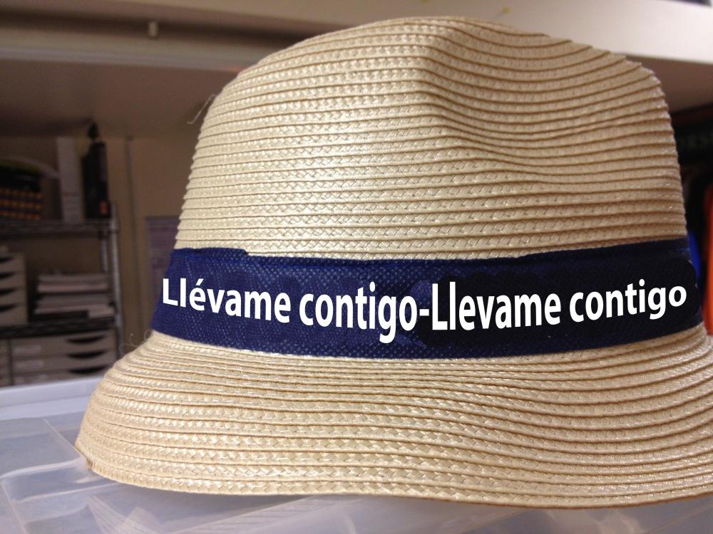 Sombrero LLévame contigo by Triza 21